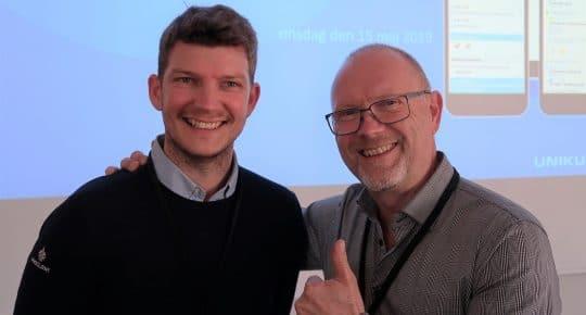 Mattias Nilsson och Niclas Wijkström
